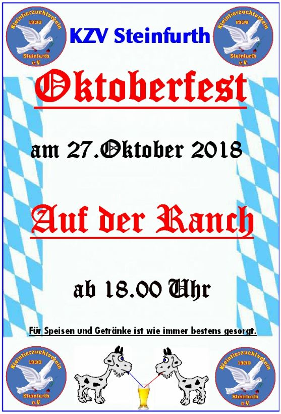 Oktoberfest - KZV @ Steinfurther Ranch