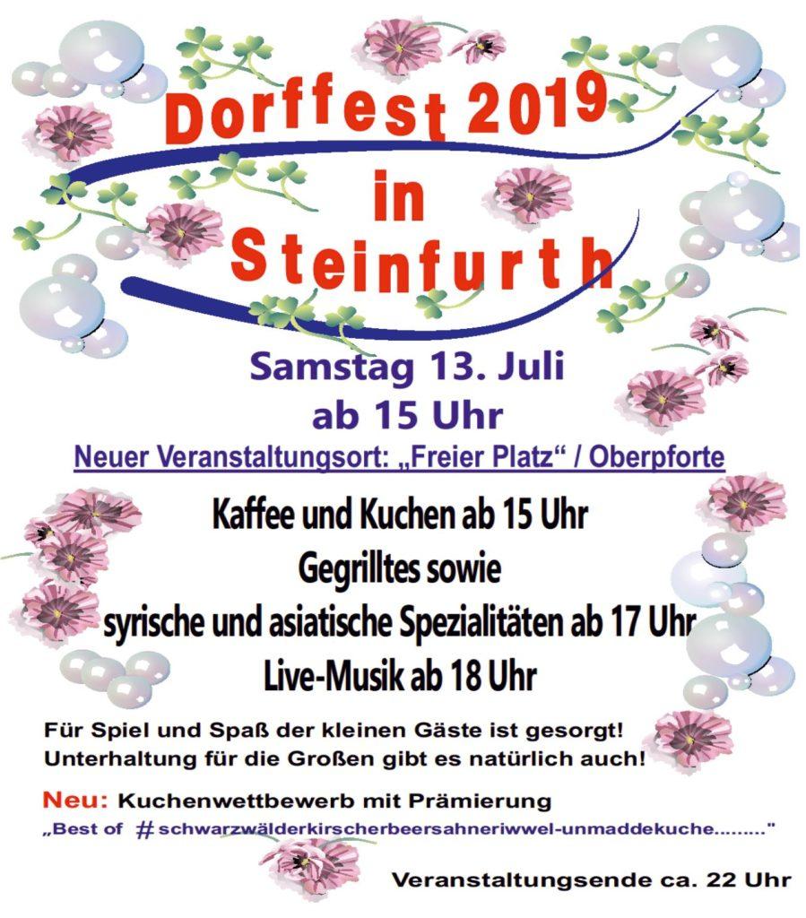Dorffest @ Freier Platz / Oberpforte